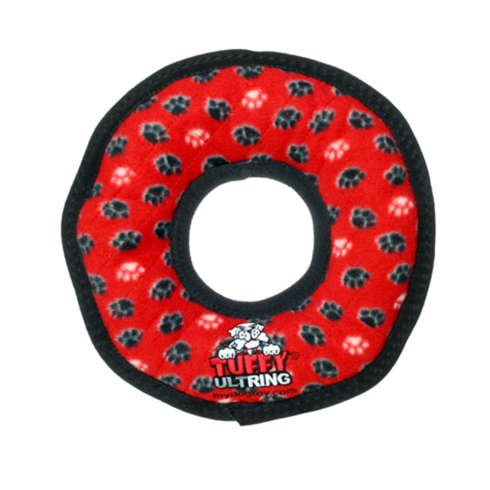 VIP Products / Tuffy VIP Tuffys Ultimate Ring Red Paw