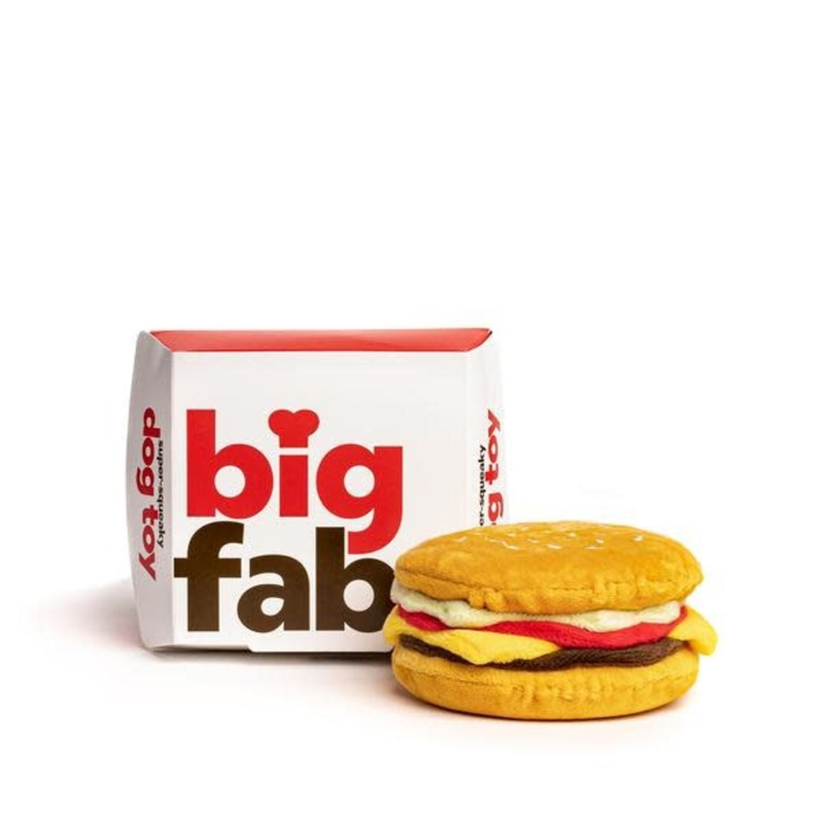Fab Dog FAB DOG Super Squeaker Cheeseburger
