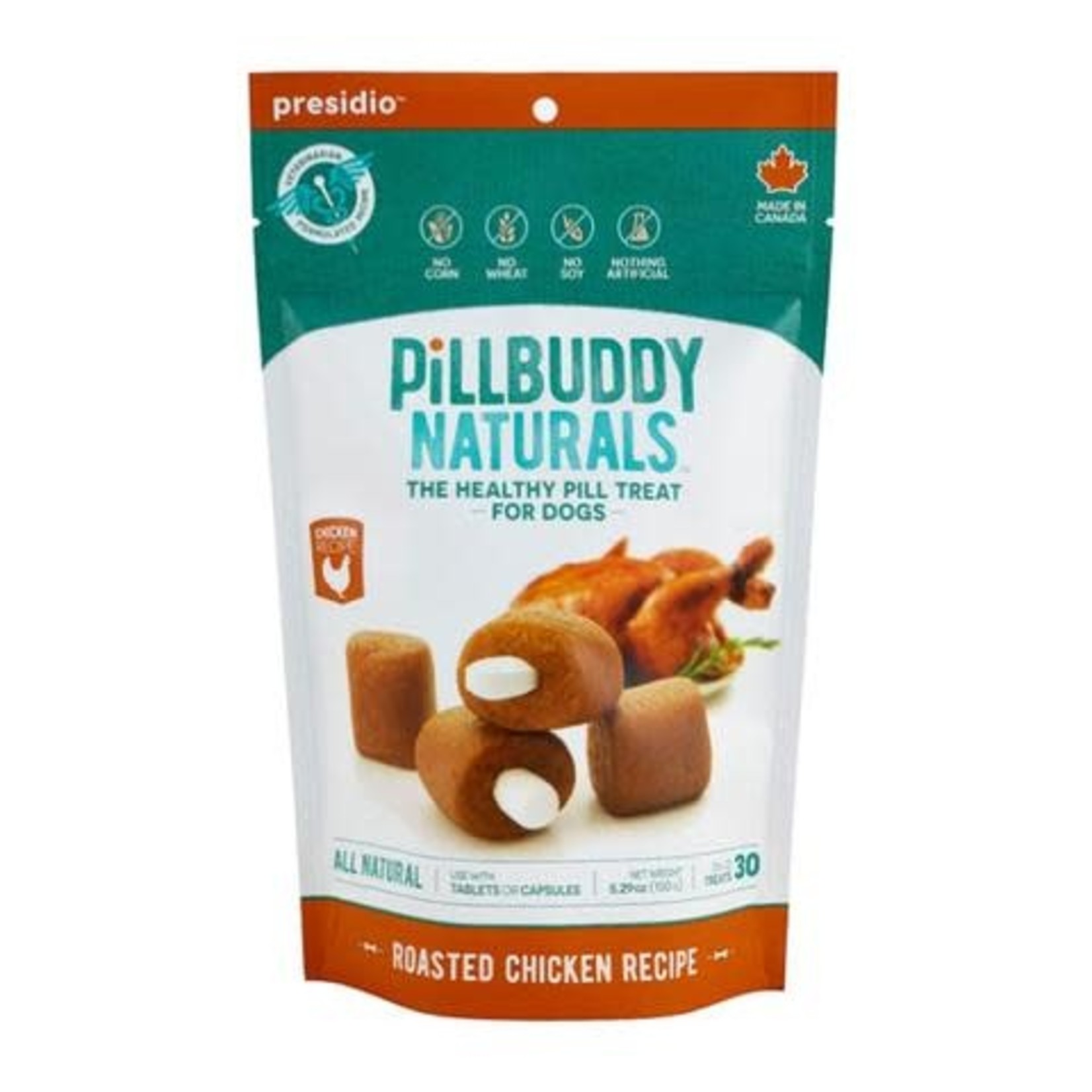 Complete Natural Nutrition Dog Pill Buddy Chicken 30 Count