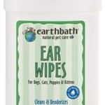 Earth Bath / Shea Pet Earth Bath Dog & Cat Ear Wipes 25 Count