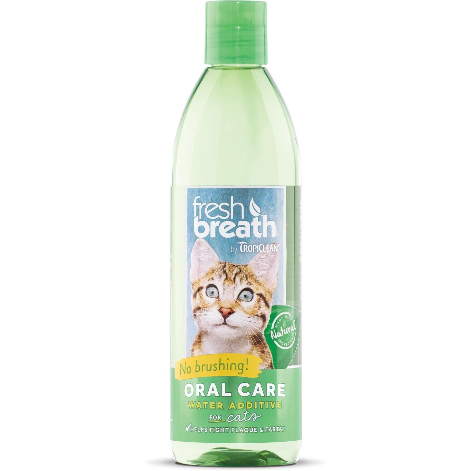 Tropiclean Fresh Breath Water Additive Cat 16 OZ