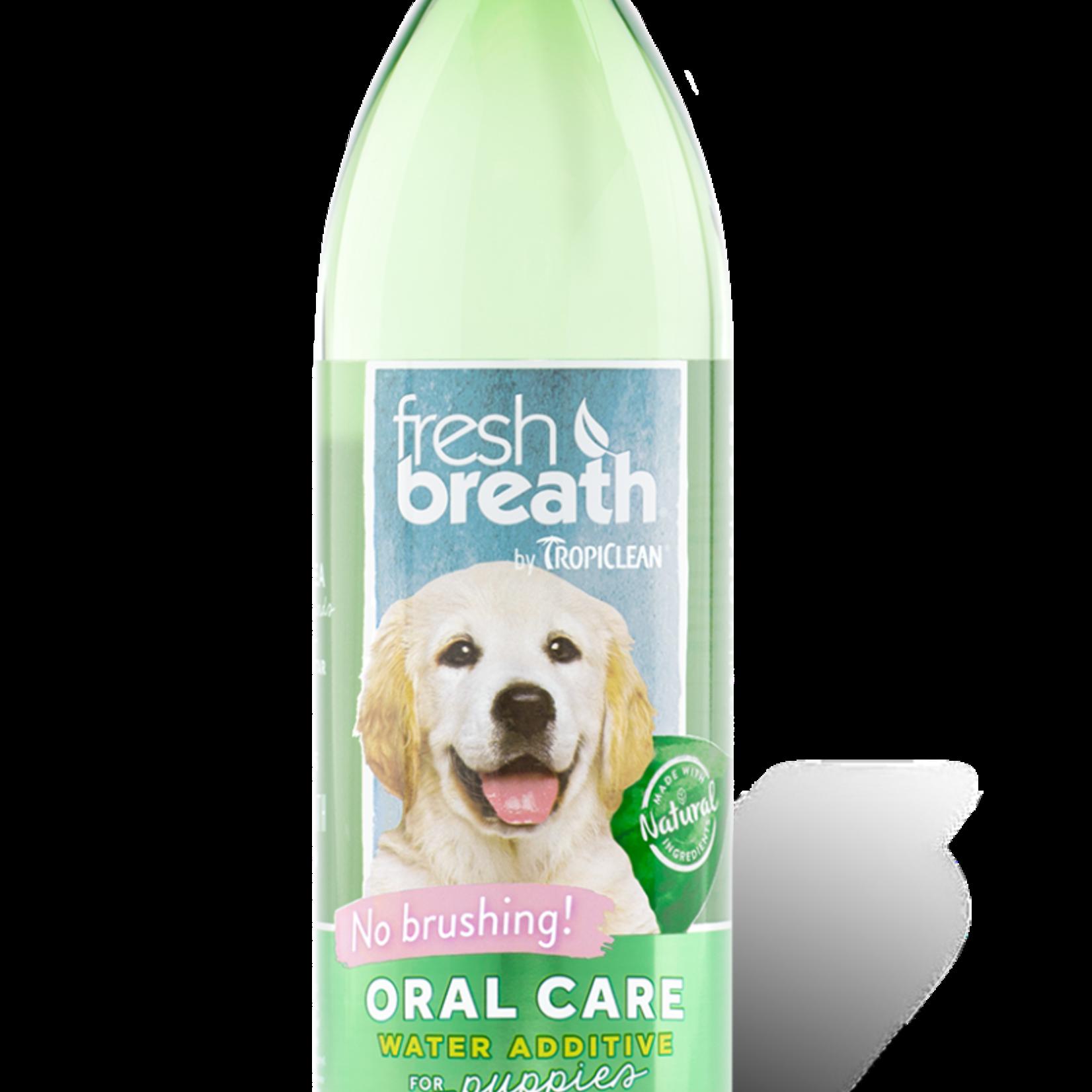 Tropiclean Fresh Breath Water Additive Puppy 16 OZ