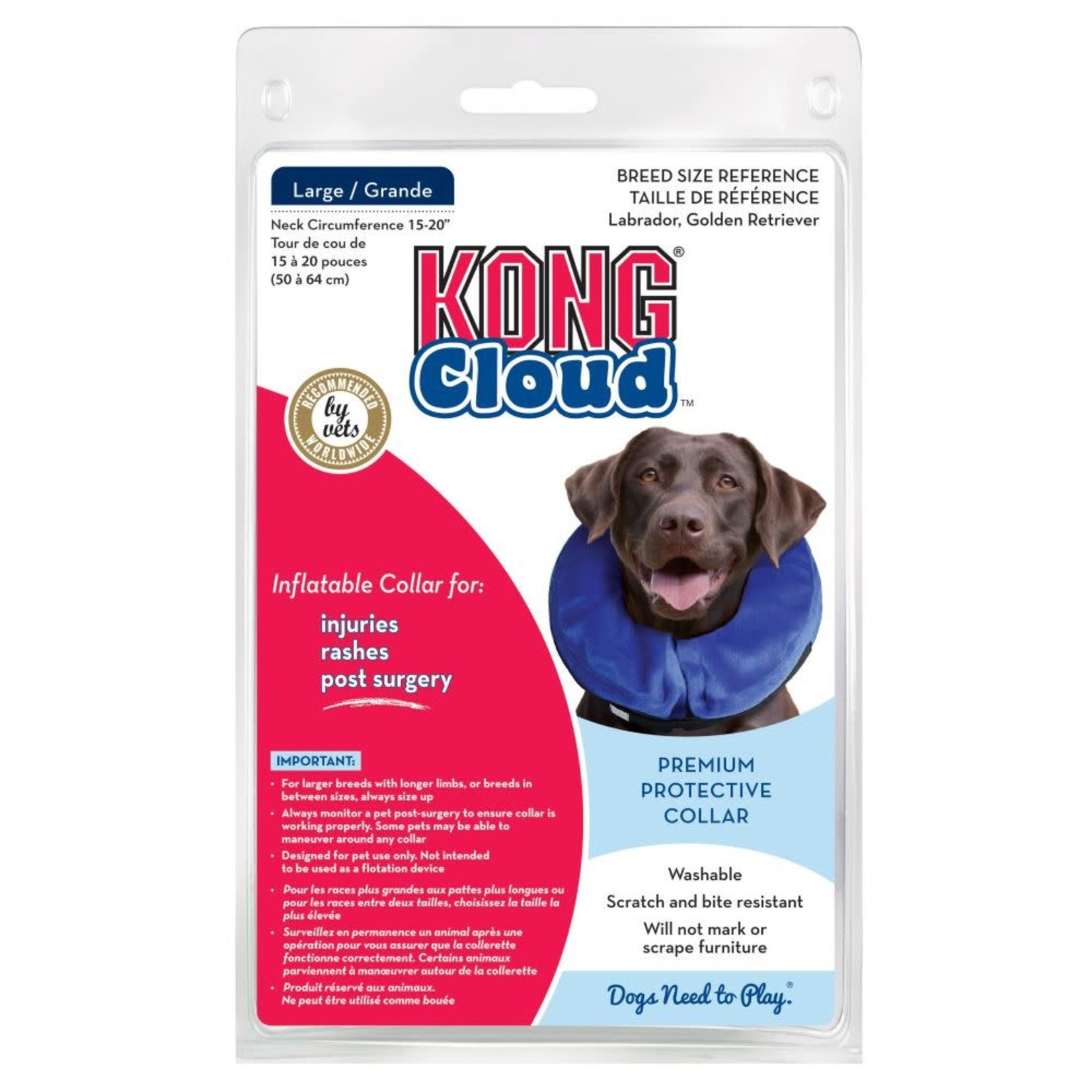 Kong Company Kong Cloud Collar Large Dog