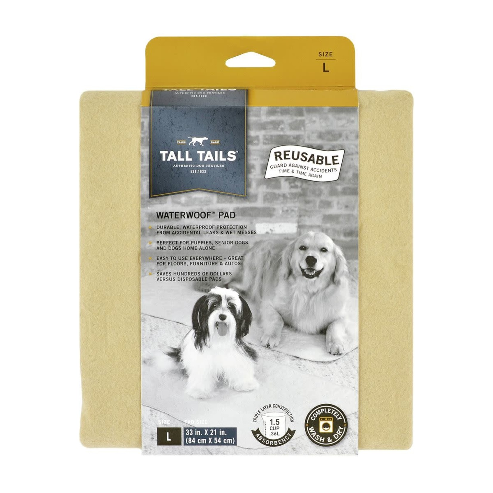 Tall Tails Tall Tails Waterproof Pad Large
