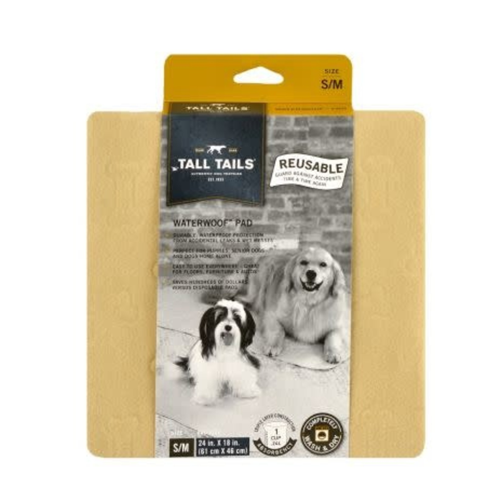 Tall Tails Tall Tails Waterproof Pad Small/Medium