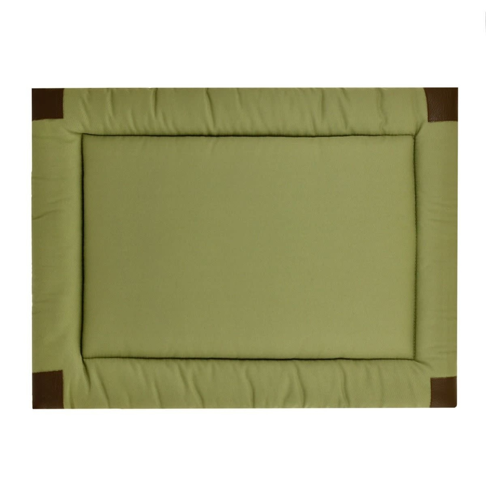 """Tall Tails Tall Tails Classic Crate Pad Sage Small 24"""" x 18"""""""