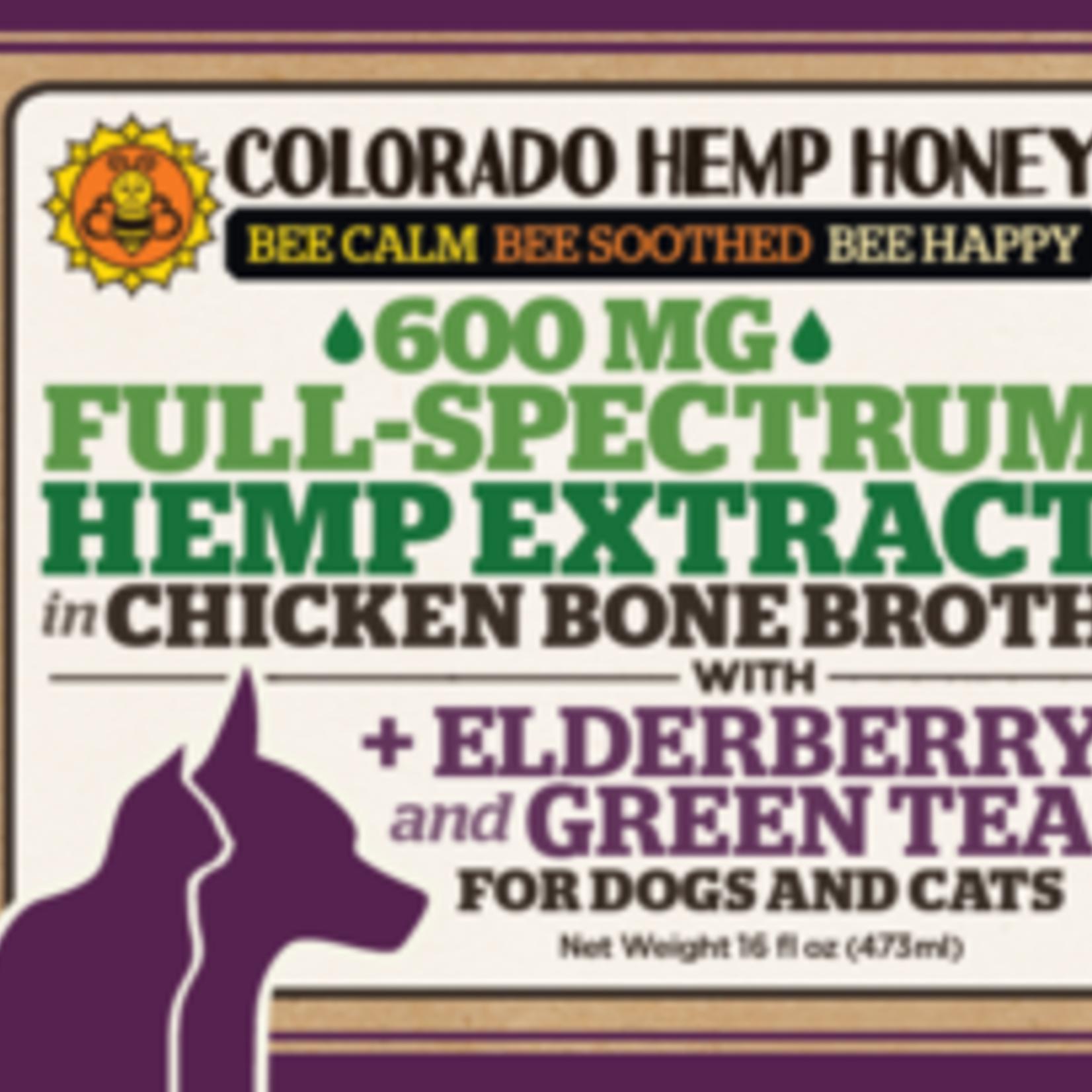 Colorado Hemp Honey Colorado Hemp Full Spectrum 600 MG Chicken Bone Broth