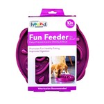 Outward Hound Outward Hound Fun Feeder Purple Large