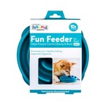 Outward Hound Outward Hound Fun Feeder Teal Mini