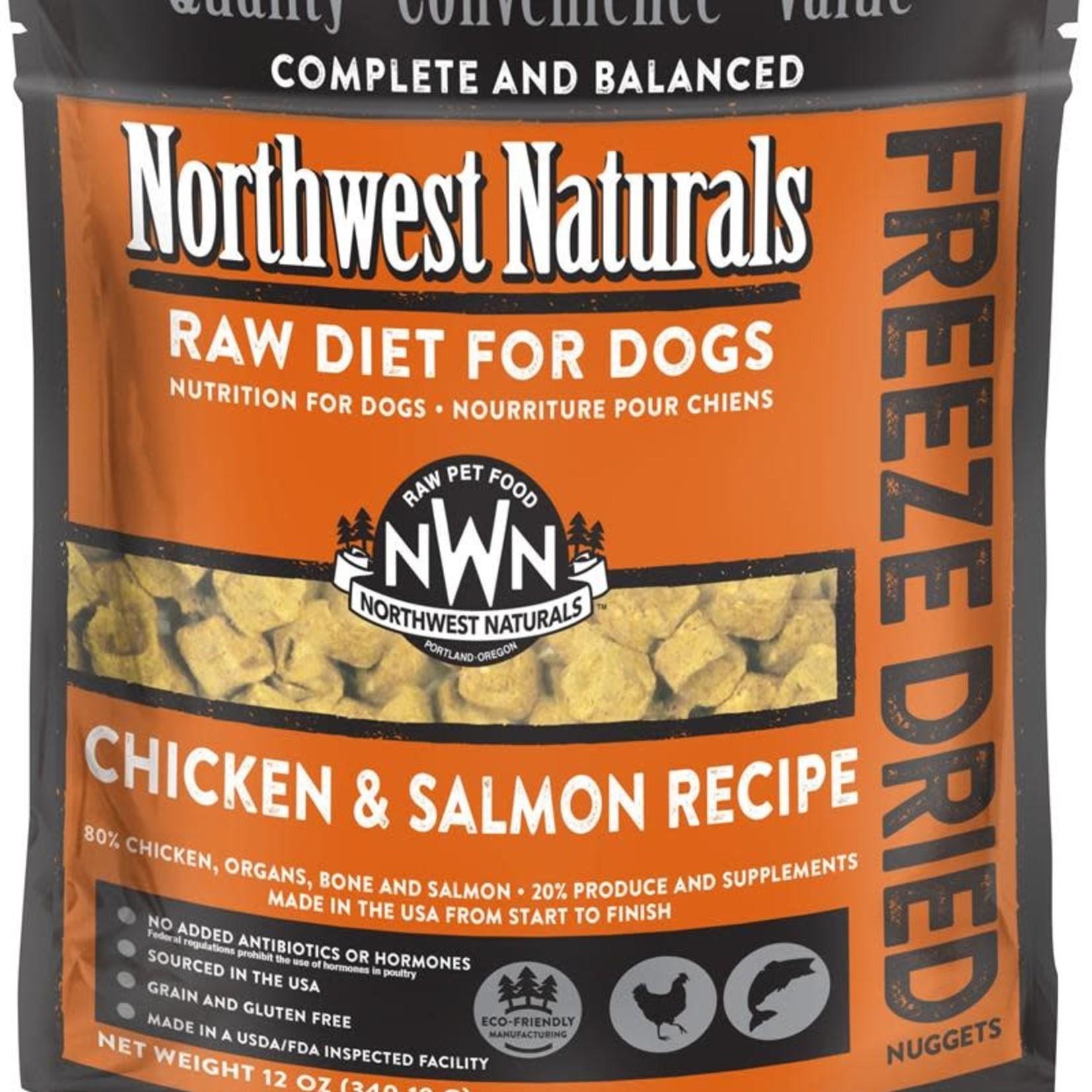 Northwest Naturals Northwest Naturals Dog Freeze-dried Chicken & Salmon Nuggets 12 OZ