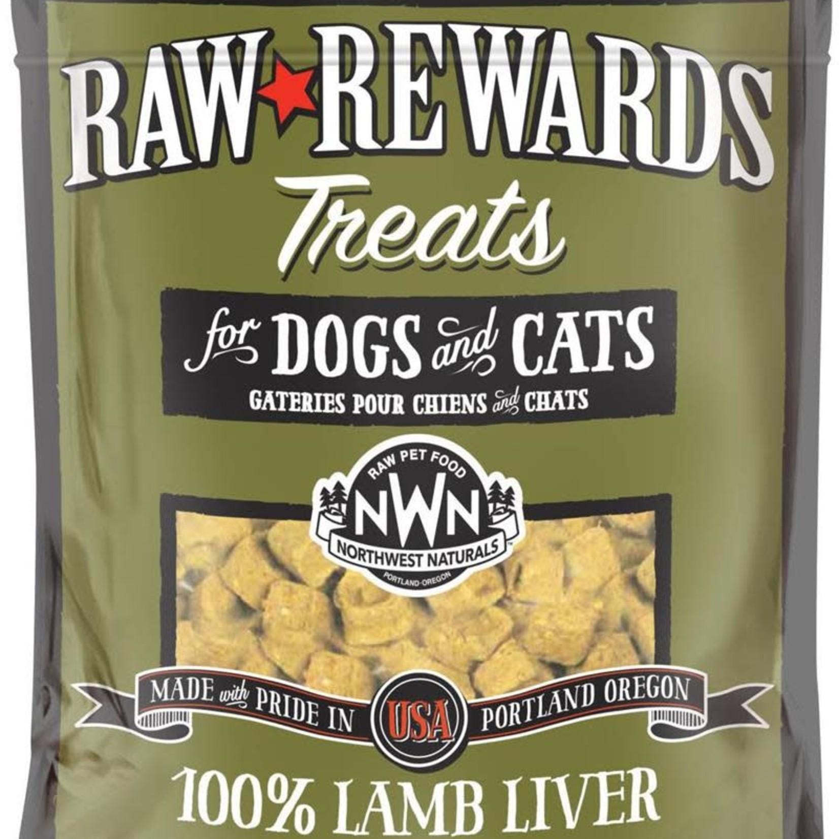 Northwest Naturals Northwest Naturals Freeze-dried Raw Rewards Lamb Liver Treat 3 OZ