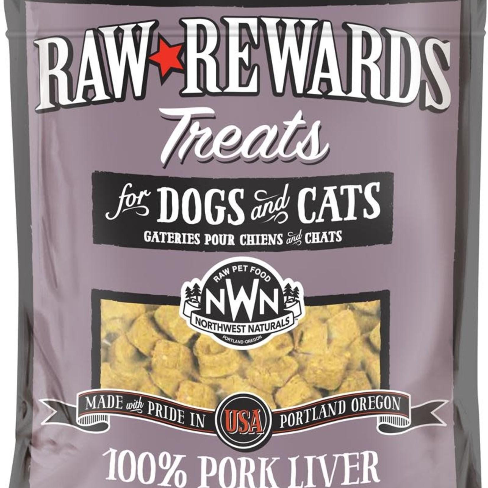 Northwest Naturals Northwest Naturals Freeze-dried Raw Rewards Pork Liver Treat 3 OZ
