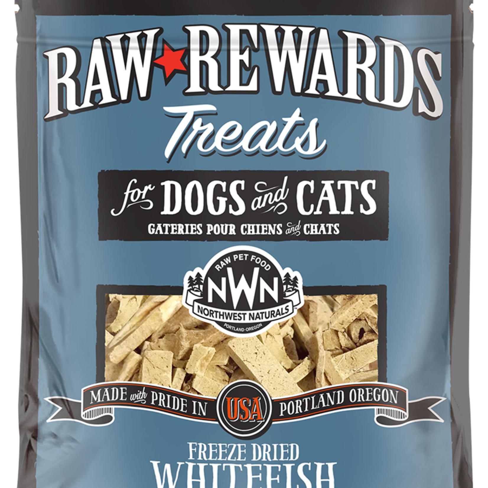 Northwest Naturals Northwest Naturals Freeze-dried Raw Rewards Whitefish Treat 3 OZ