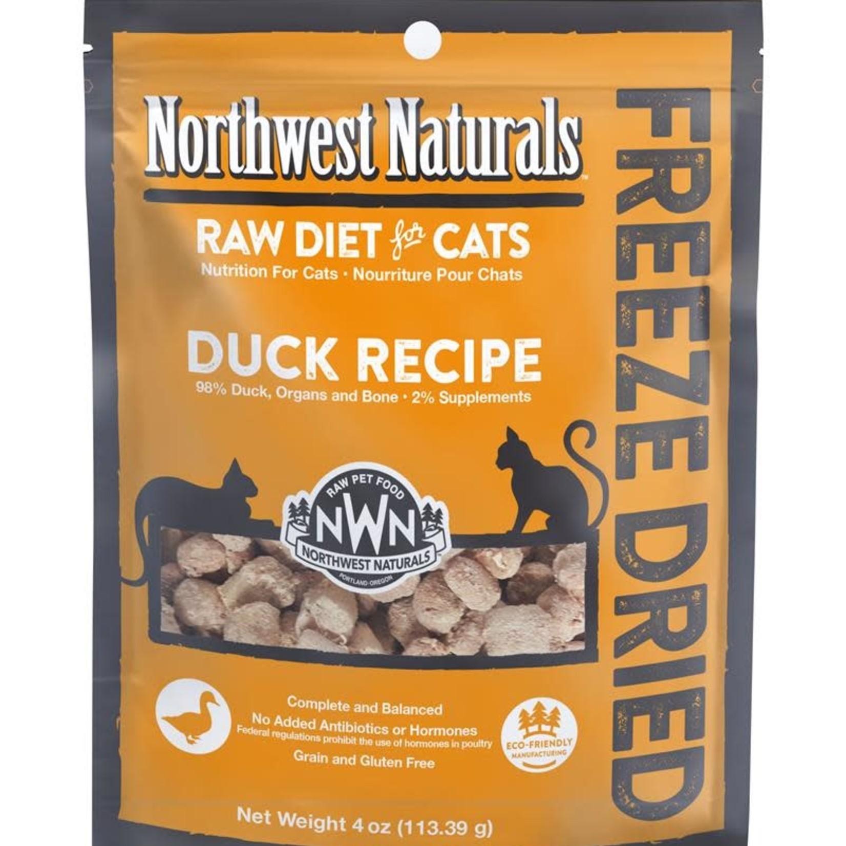 Northwest Naturals Northwest Naturals Freeze-dried Cat Duck Nibbles 4 OZ