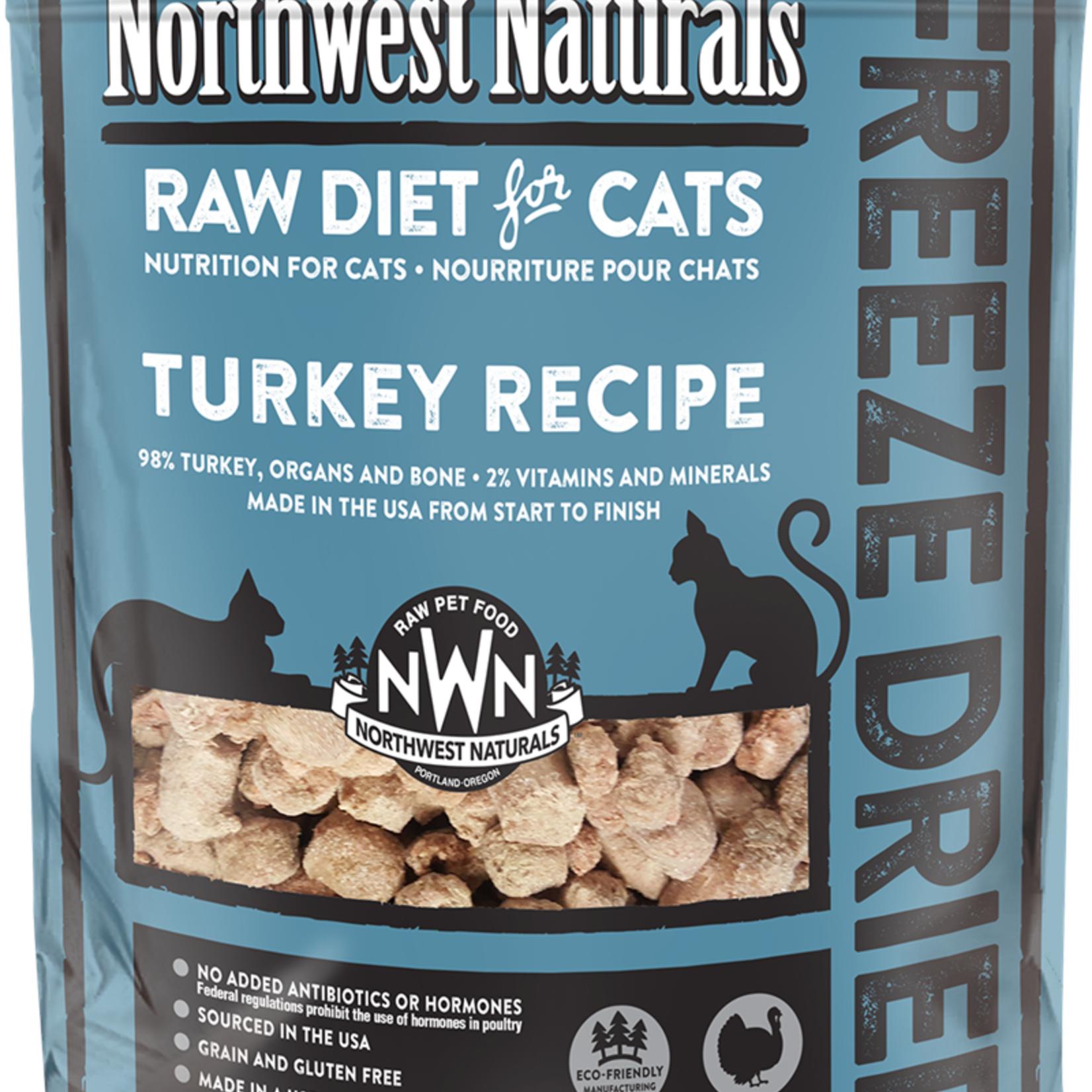 Northwest Naturals Northwest Naturals Freeze-dried Cat Turkey Nibbles 4 OZ