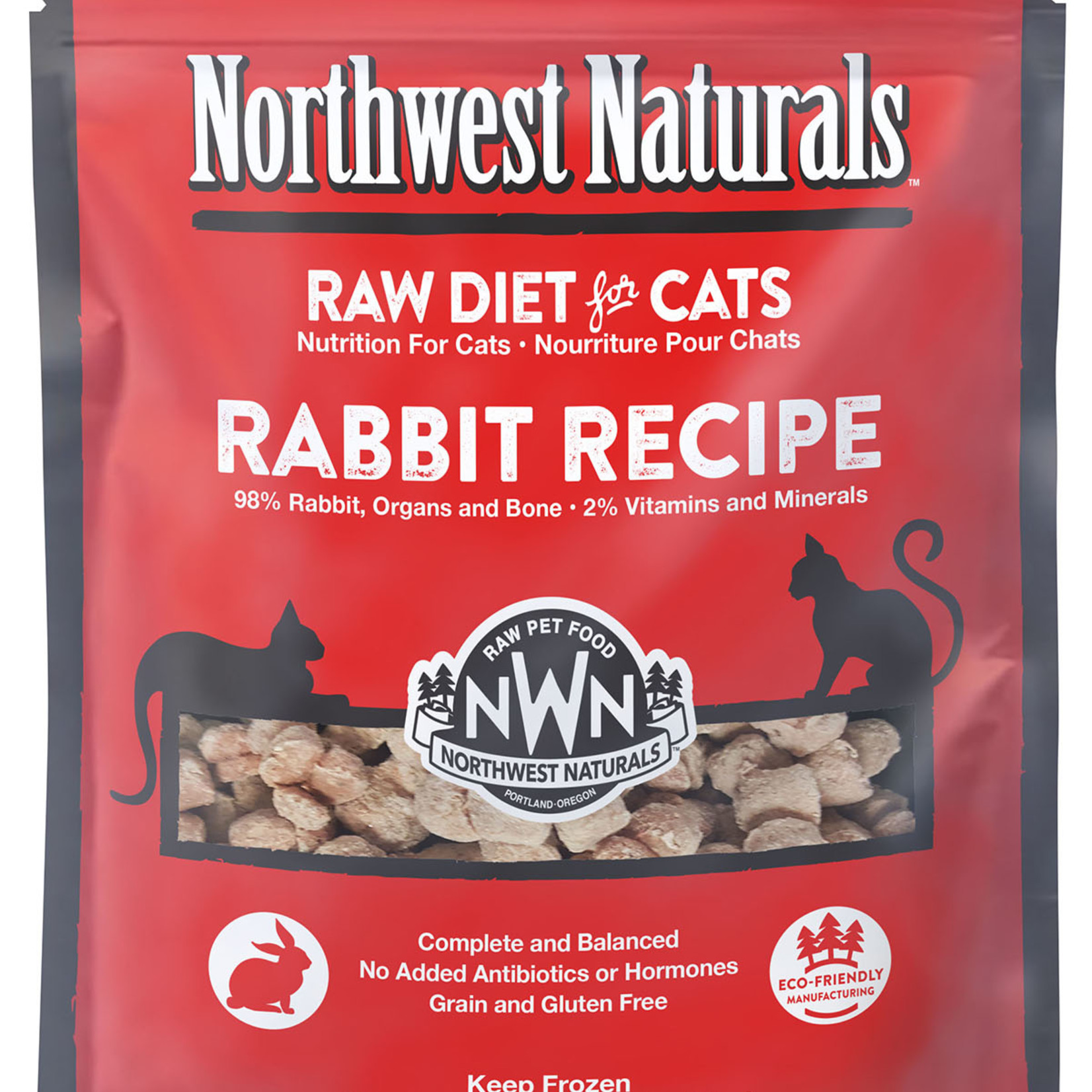 Northwest Naturals Northwest Naturals Frozen Cat Rabbit Nibbles 2#