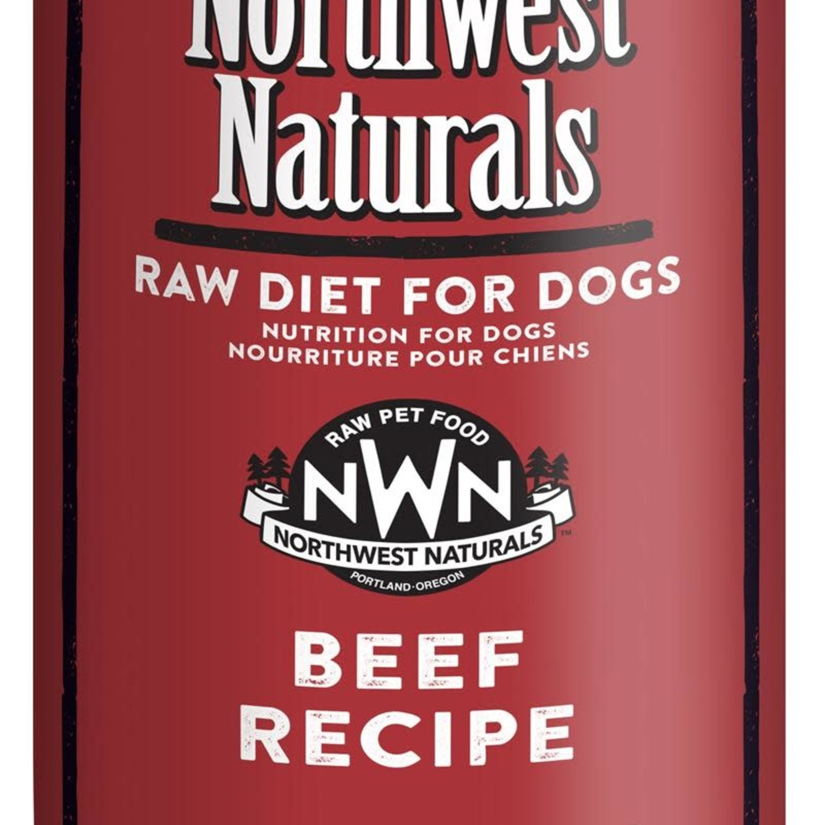 Northwest Naturals Northwest Naturals Dog Frozen Beef Chub 5#