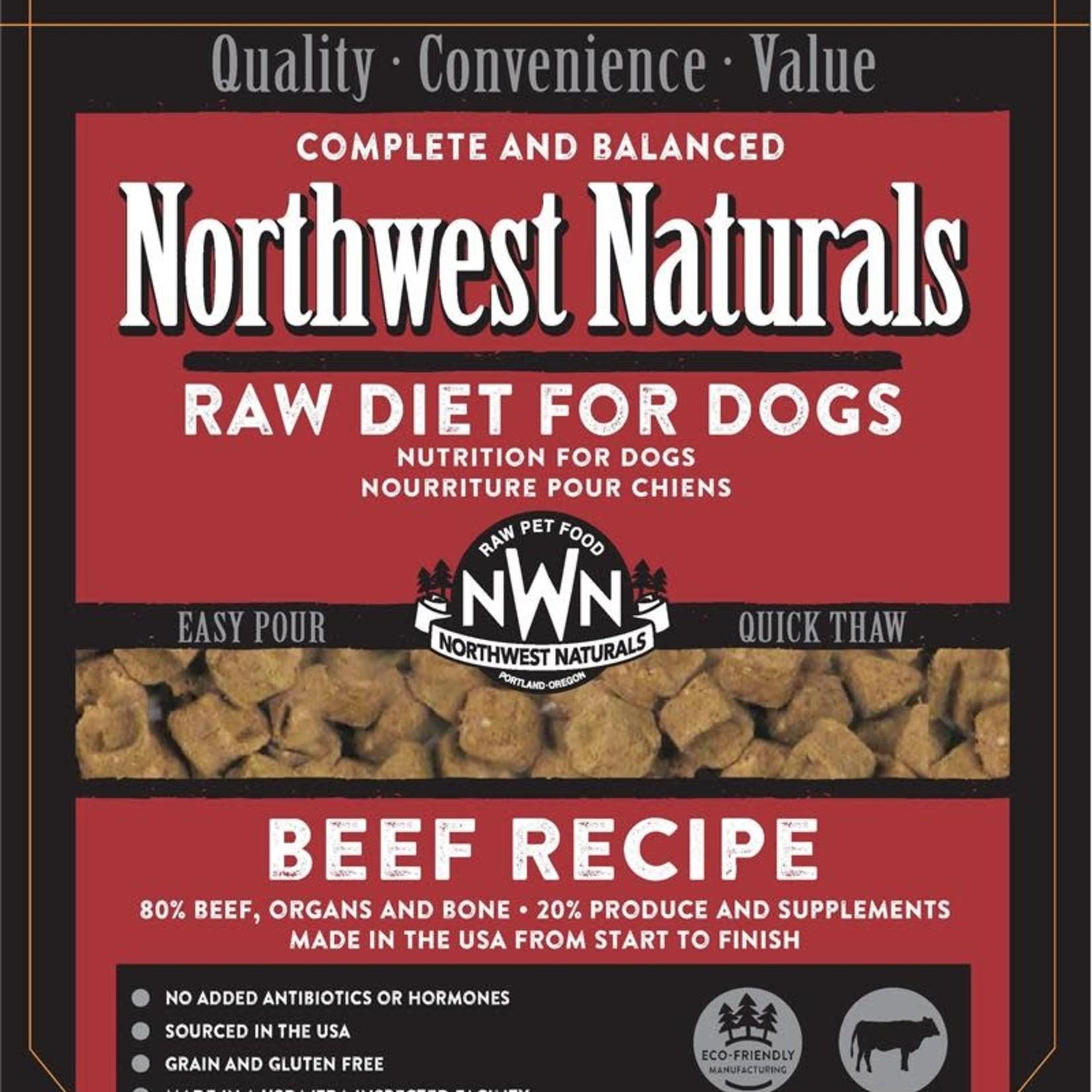 Northwest Naturals Northwest Naturals Dog Frozen Beef Nuggets 6#