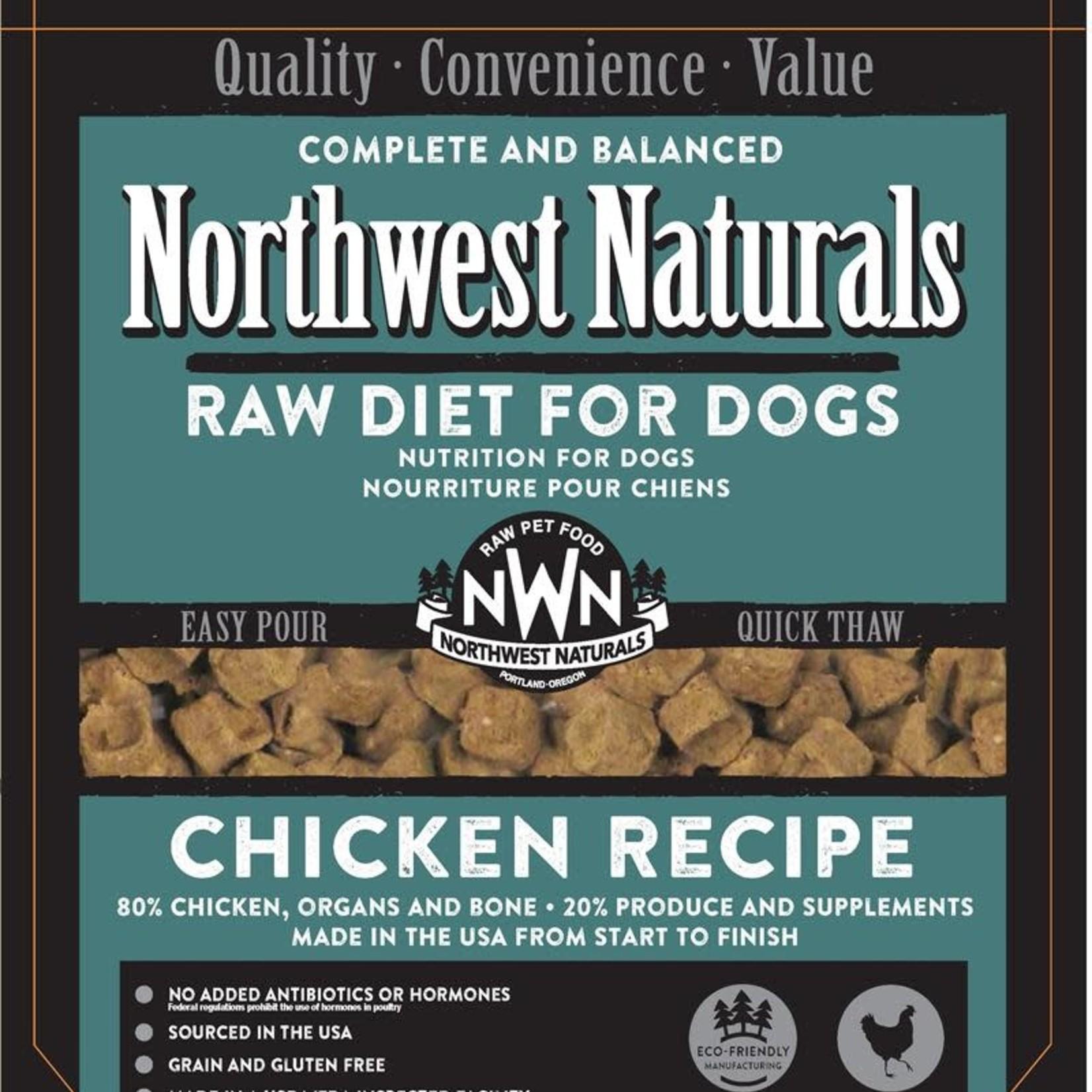 Northwest Naturals Northwest Naturals Dog Frozen Chicken Nuggets 6#