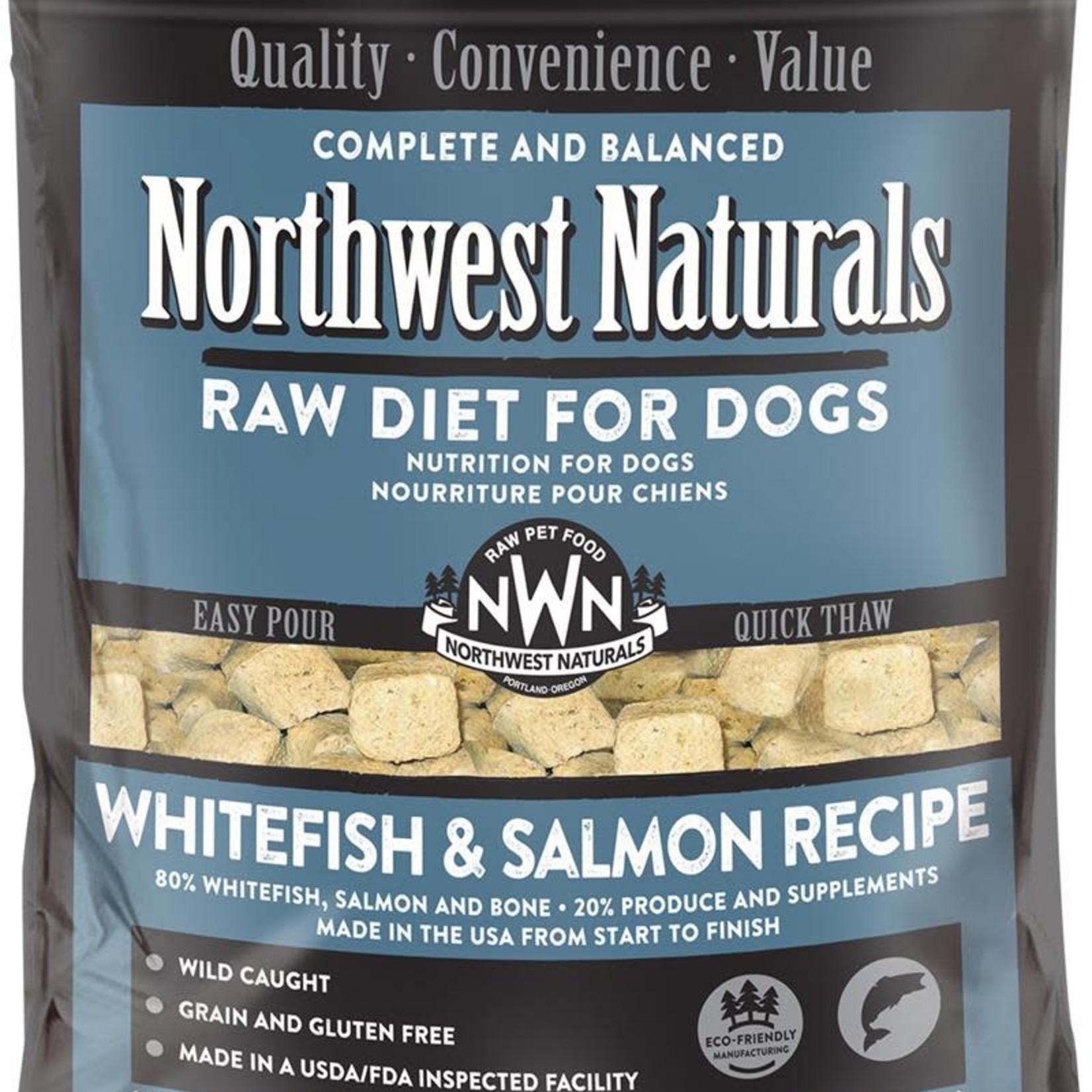Northwest Naturals Northwest Naturals Dog Frozen Whitefish & Salmon Nuggets 6#
