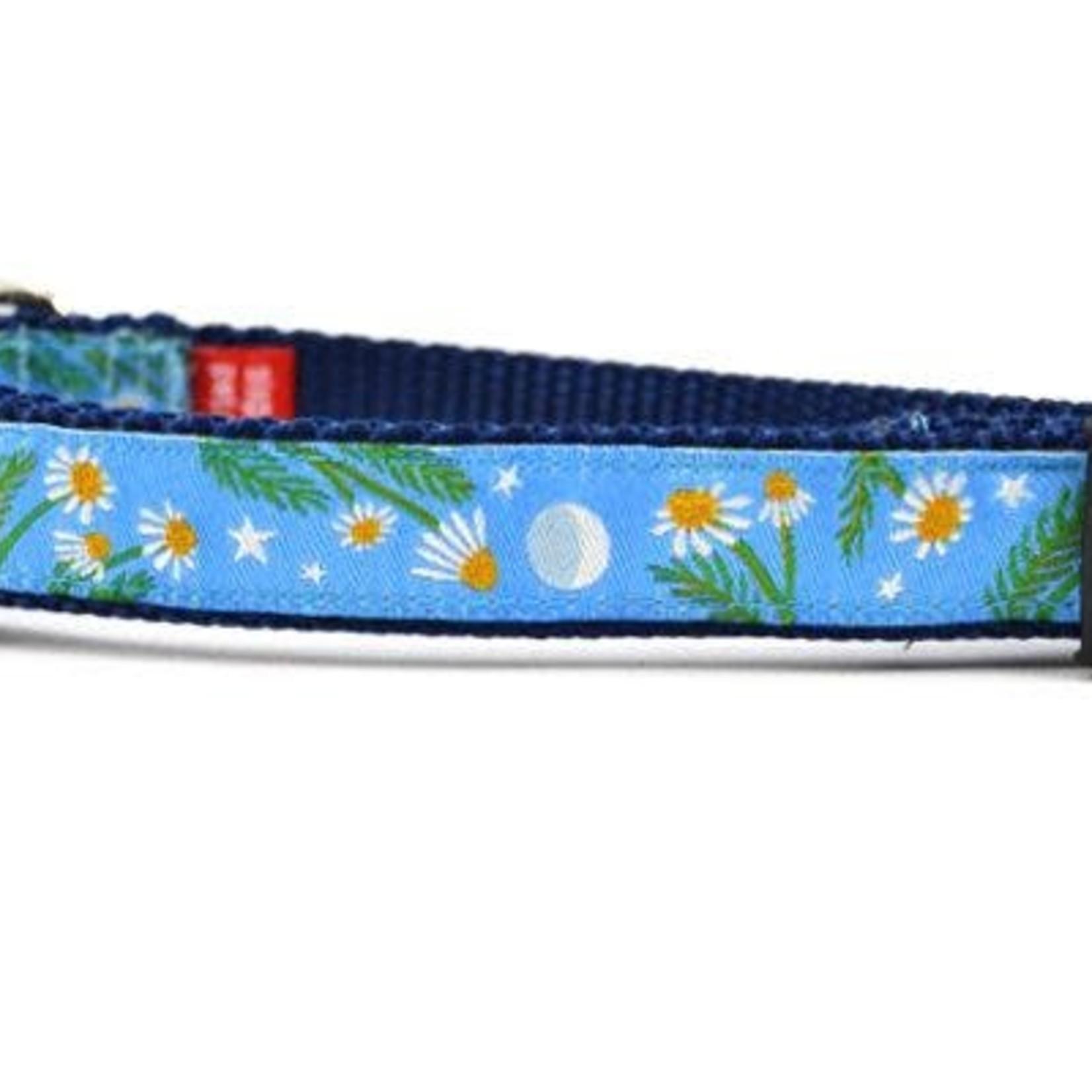 Six Point Pet Six Point Pet Chamomile Flower Light Blue Collar X-Small