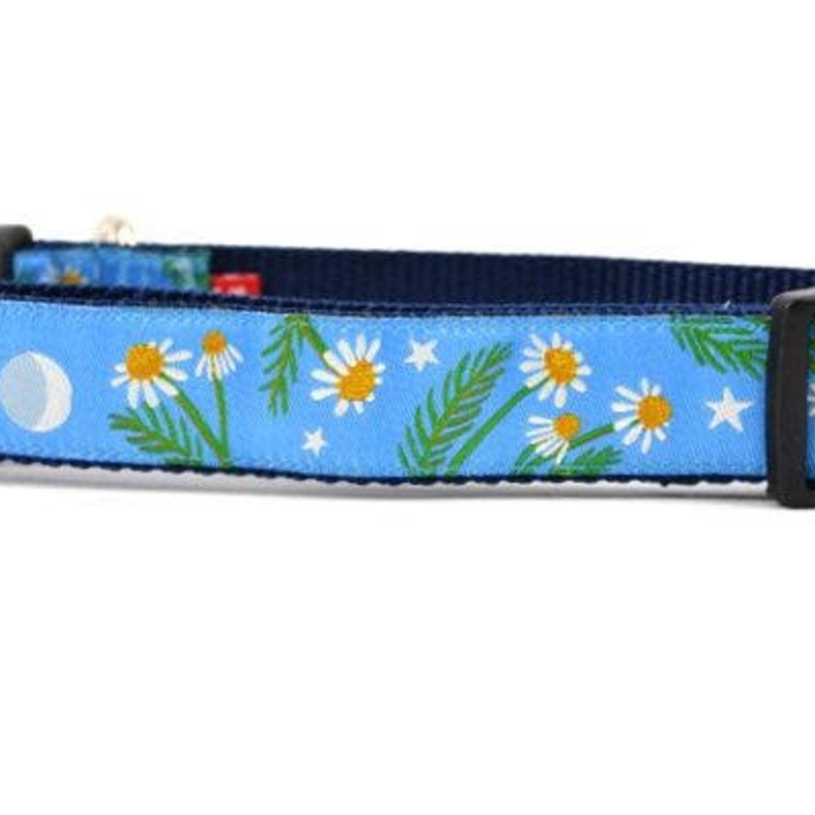 Six Point Pet Six Point Pet Chamomile Flower Light Blue Collar Medium