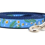 Six Point Pet Six Point Pet Chamomile Flower Lead Light Blue Small