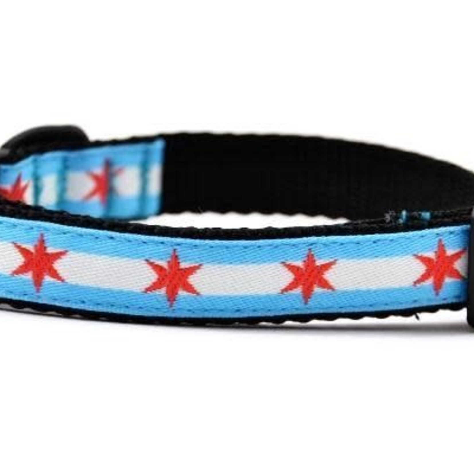 Six Point Pet Six Point Pet Chicago Flag Cat Collar
