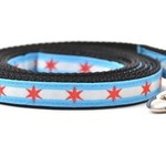 Six Point Pet Six Point Pet Chicago Flag Lead X-Small