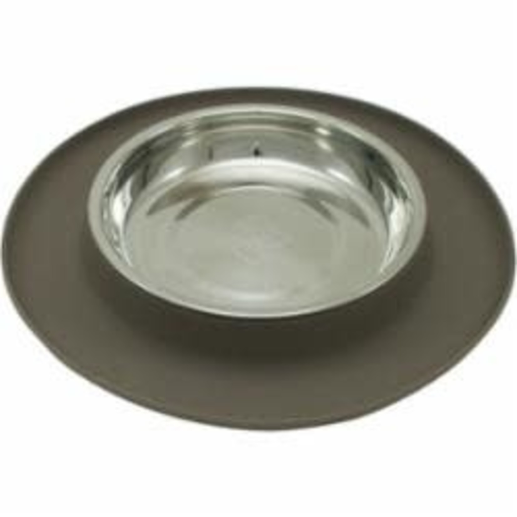Messy Mutts Messy Mutts Cat Silicone Feeder Grey