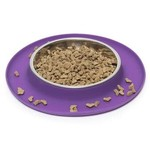 Messy Mutts Messy Mutts Cat Silicone Feeder Purple