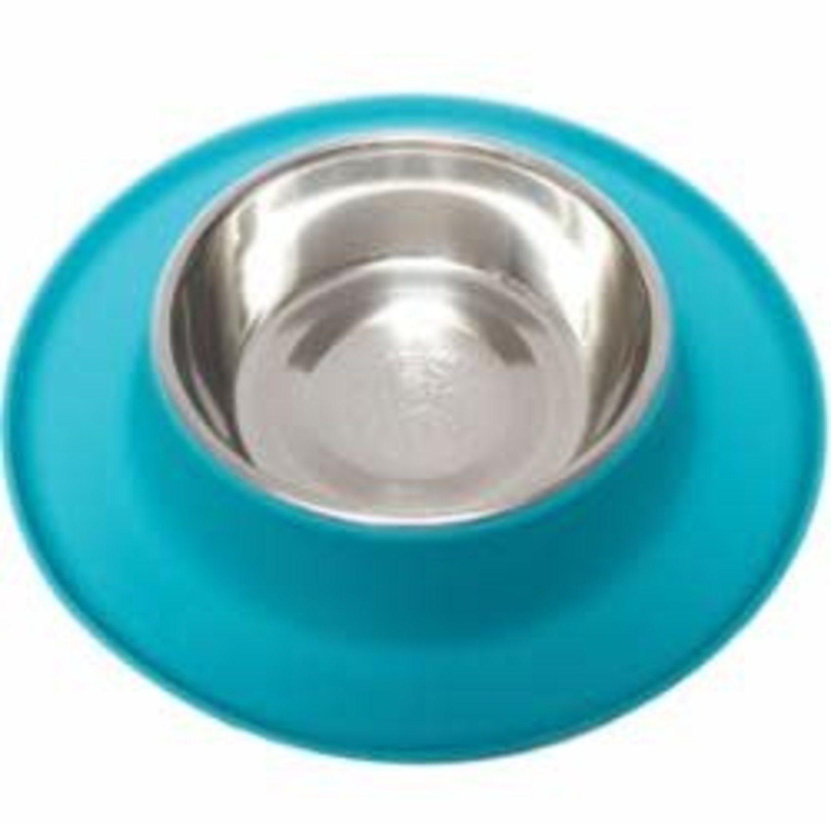 Messy Mutts Messy Mutts Dog Silicone Feeder Blue 6 CUP