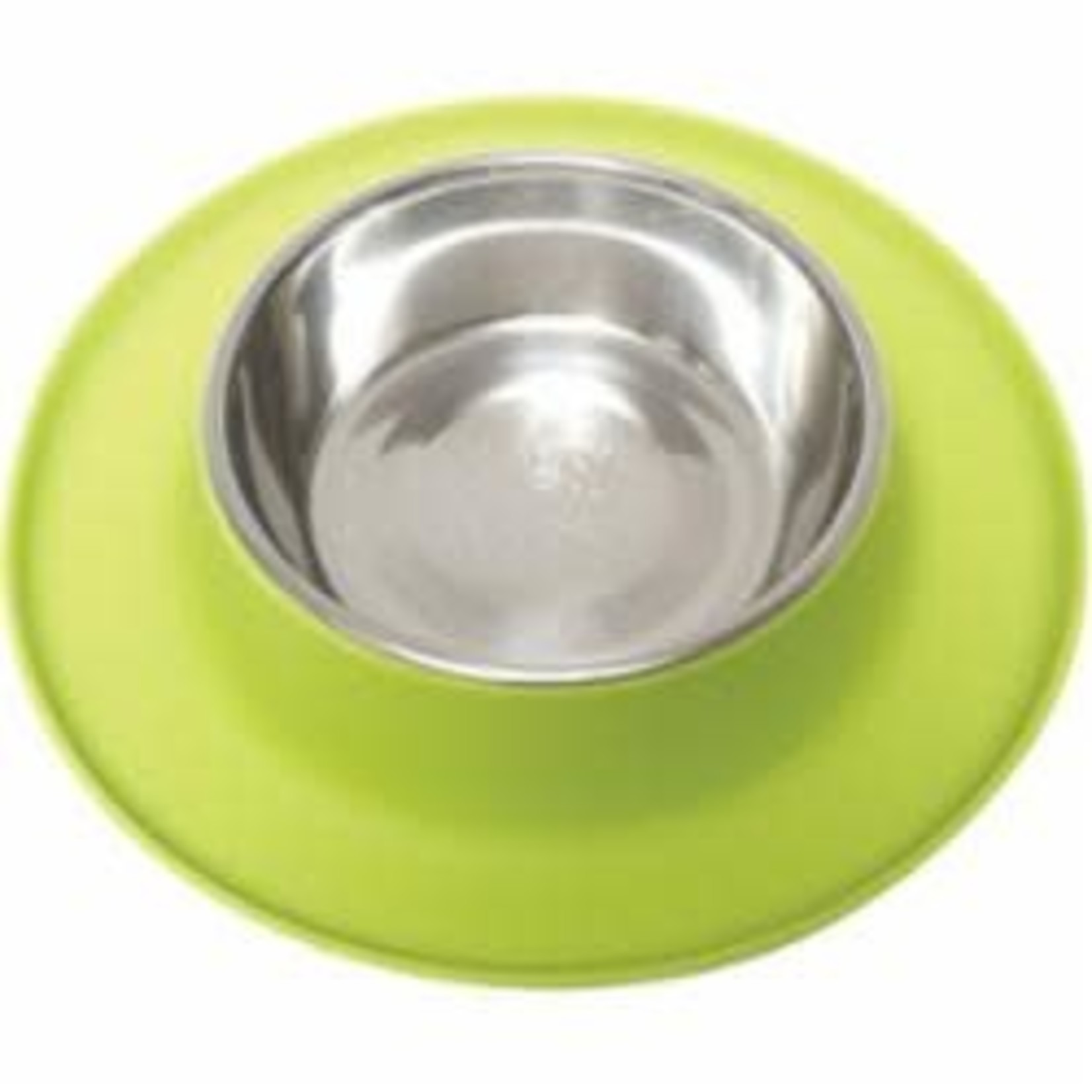 Messy Mutts Messy Mutts Dog Silicone Feeder Green 6 CUP