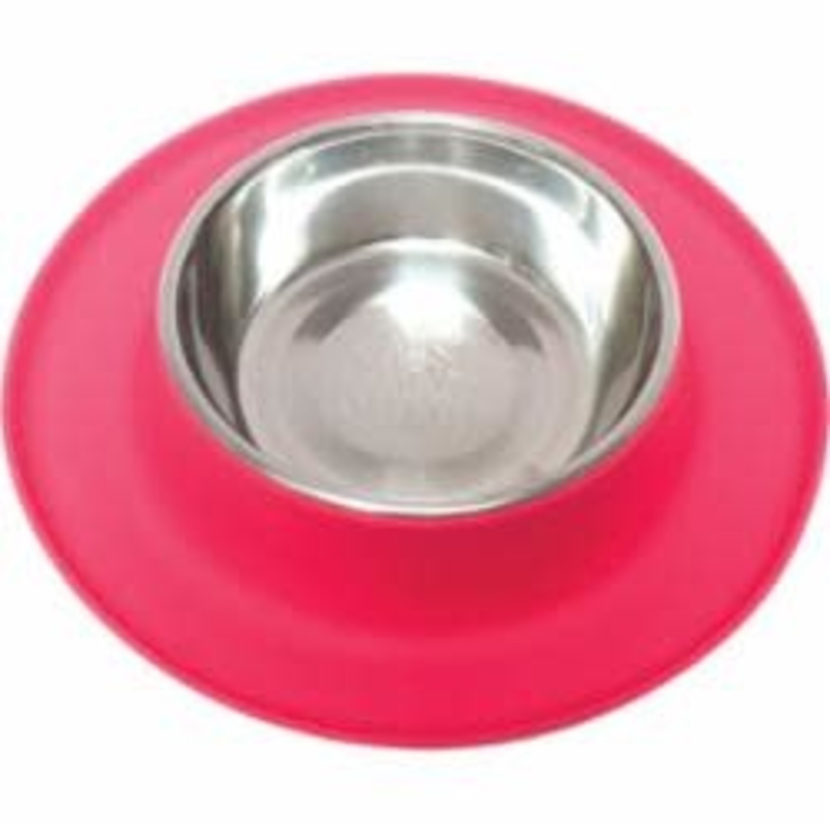 Messy Mutts Messy Mutts Dog  Silicone Feeder Red 1.5 CUP
