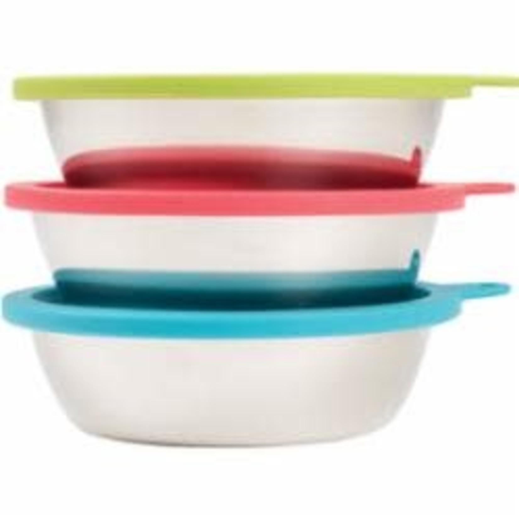 Messy Mutts Messy Mutts Dog Bowl & Lid 3 Pack, 6 CUP