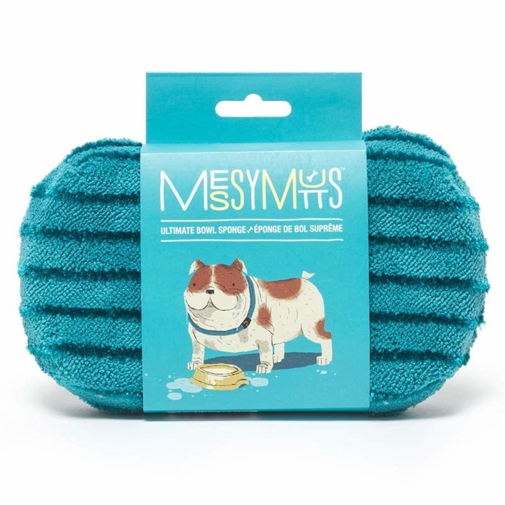 Messy Mutts Messy Mutts Bowl Sponge Blue