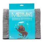 Messy Mutts Messy Mutts Microfiber Towel Grey Medium