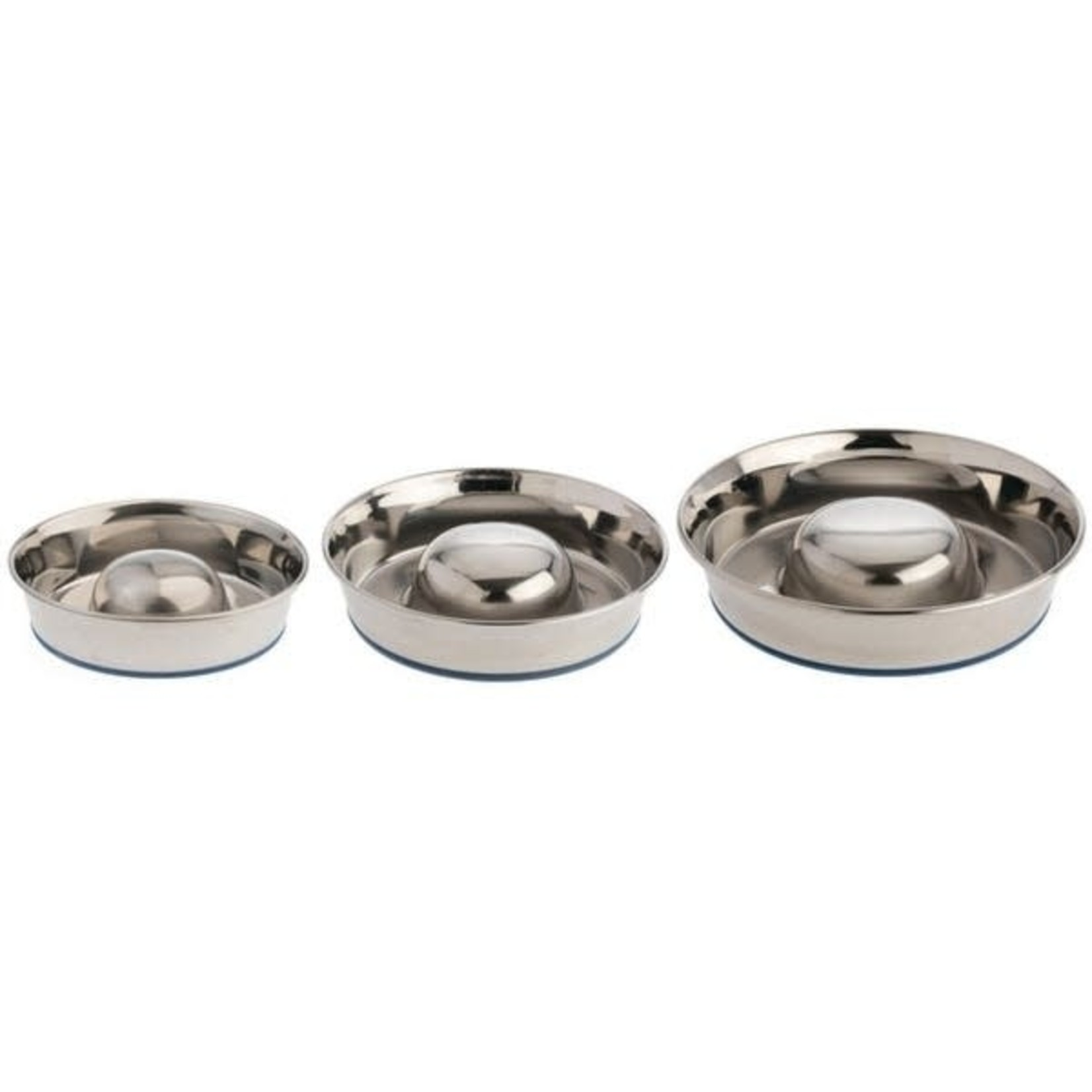 Our Pets Company Durapet Stainless Steel Bowl Slow Feed Medium