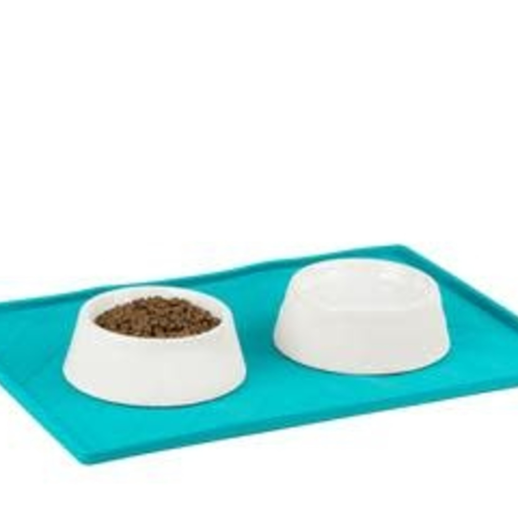 Messy Mutts Messy Mutts Silicone Food Mat Large Blue