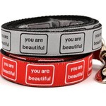 Six Point Pet Six Point Pet You Are Beautiful Lead Red Large