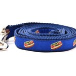 Six Point Pet Six Point Pet Chicago Hot Dog Lead Blue Small