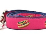 Six Point Pet Six Point Pet Chicago Hot Dog Lead Pink Large