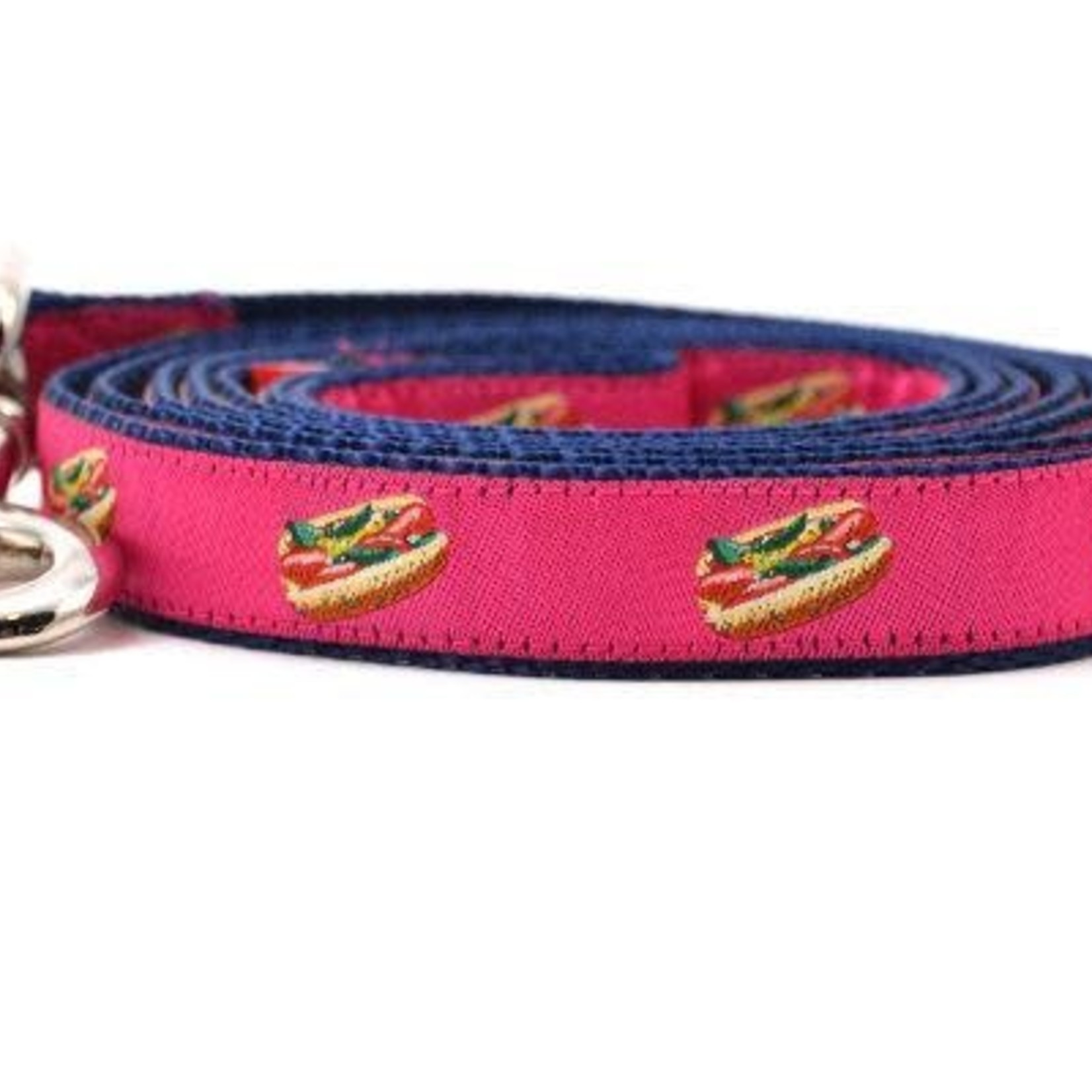 Six Point Pet Six Point Pet Chicago Hot Dog Lead Pink Small
