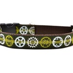 Six Point Pet Six Point Pet Bicycle Sprocket Collar Green Medium