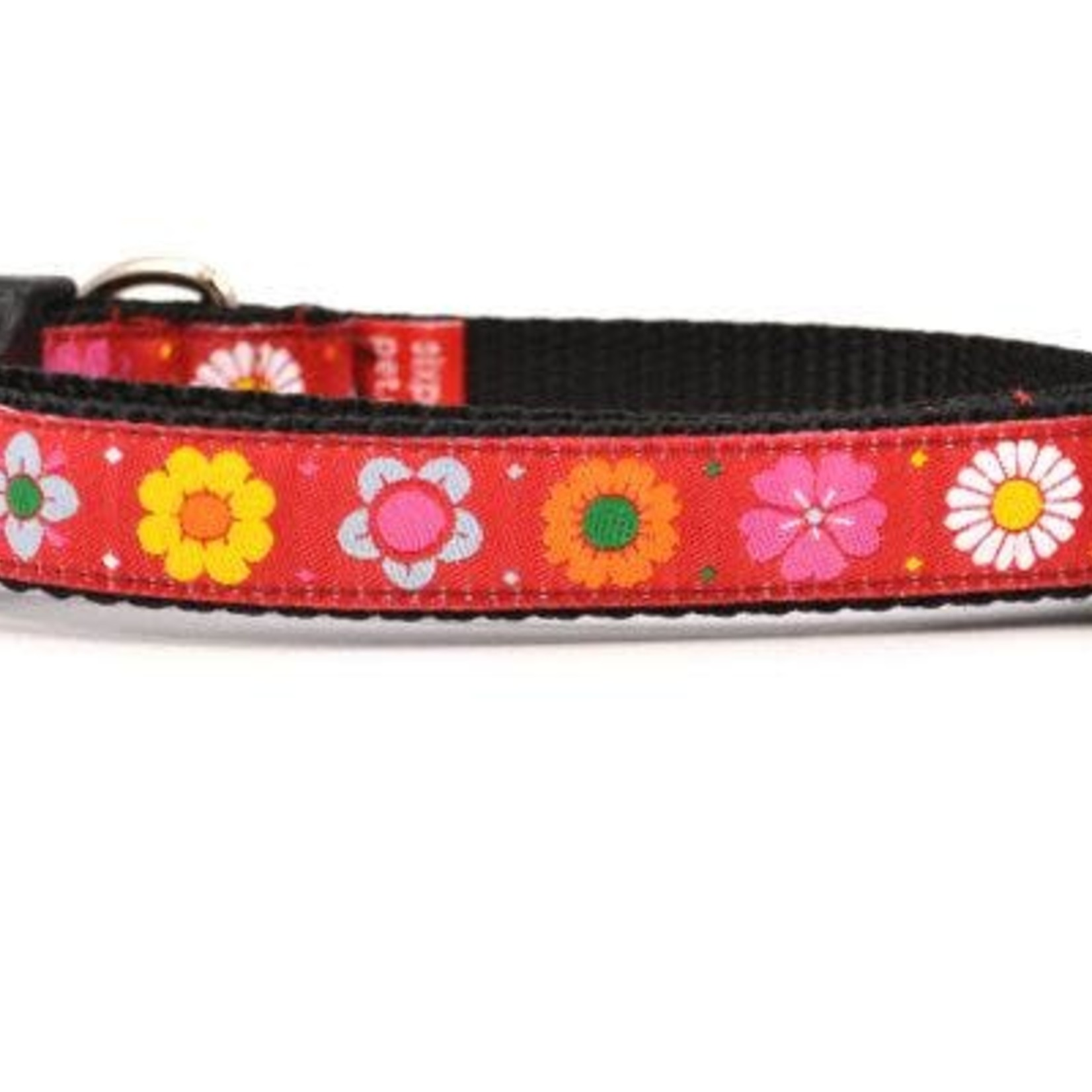 Six Point Pet Six Point Pet Daisy Chain Collar Red Small