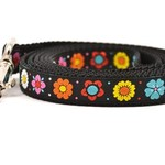 Six Point Pet Six Point Pet Daisy Chain Lead Black Small