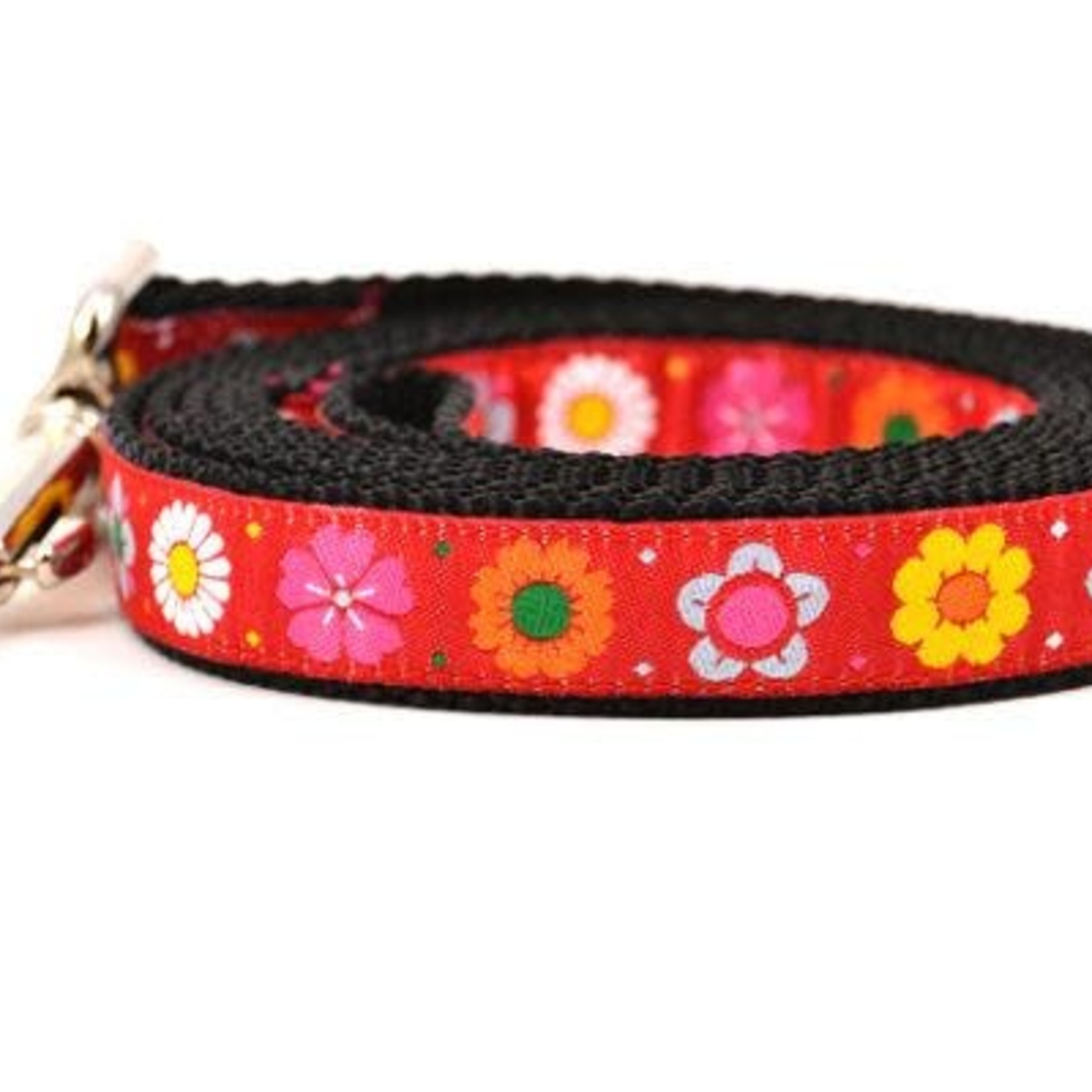 Six Point Pet Six Point Pet Daisy Chain Lead Red Small