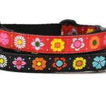 Six Point Pet Six Point Pet Daisy Chain Collar Cat Red