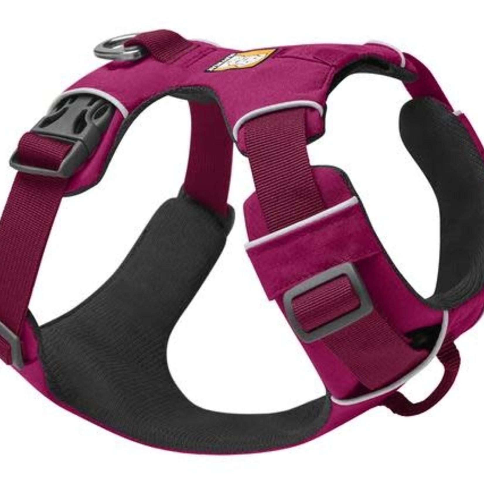 Ruff Wear Ruffwear Front Range Harness Hibiscus Pink Medium