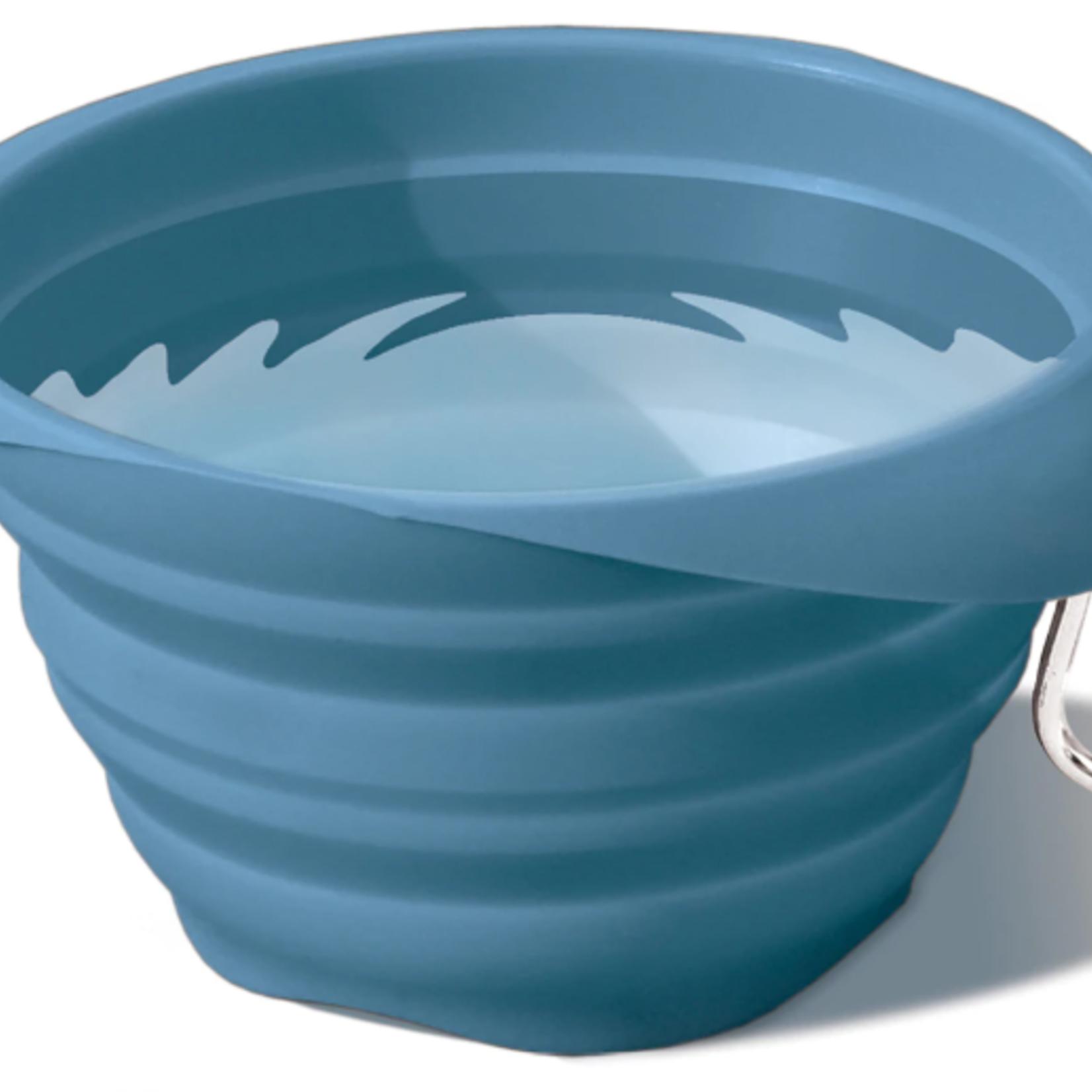Kurgo Kurgo Collapsable Bowl Blue